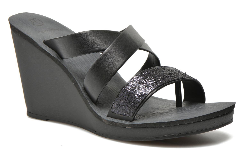 Grandes descuentos últimos zapatos Grendha Paradisio II Plat (Negro) - Zuecos Descuento
