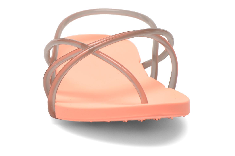 Sandalen Ipanema Philippe Starck Thing G Fem orange schuhe getragen