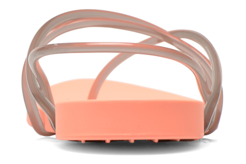 Sandalen Ipanema Philippe Starck Thing G Fem orange ansicht von rechts