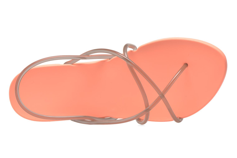 Sandalen Ipanema Philippe Starck Thing G Fem orange ansicht von links