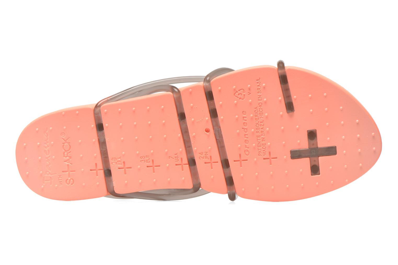 Sandalen Ipanema Philippe Starck Thing G Fem orange ansicht von oben