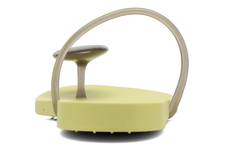 Tongs Ipanema Philippe Starck Thing U Fem Jaune vue droite
