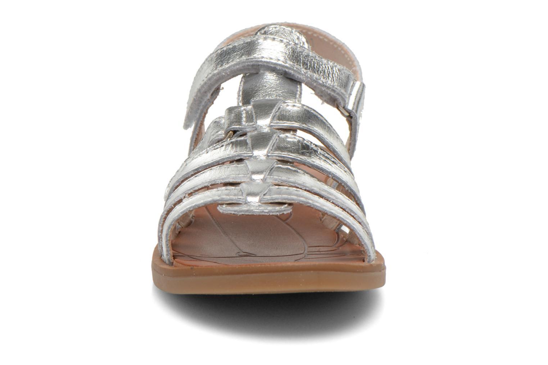 Sandales et nu-pieds Ramdam by GBB Katagami Argent vue portées chaussures