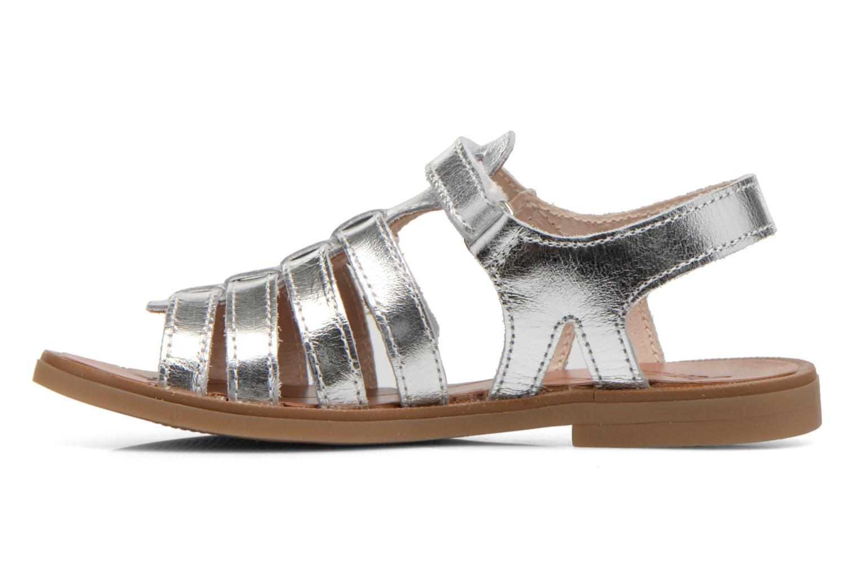 Sandales et nu-pieds Ramdam by GBB Katagami Argent vue face