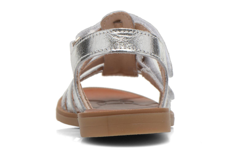 Sandales et nu-pieds Ramdam by GBB Katagami Argent vue droite