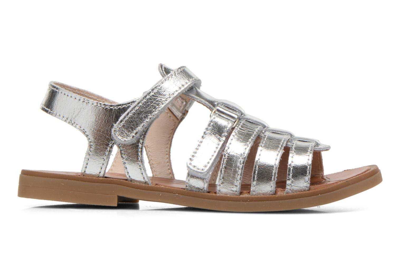 Sandales et nu-pieds Ramdam by GBB Katagami Argent vue derrière
