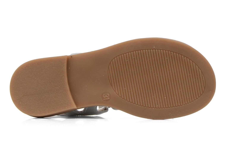 Sandales et nu-pieds Ramdam by GBB Katagami Argent vue haut