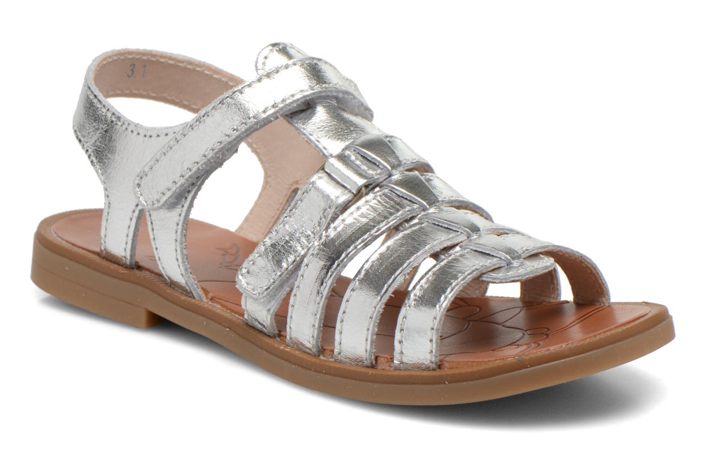 Sandales et nu-pieds Ramdam by GBB Katagami Argent vue détail/paire