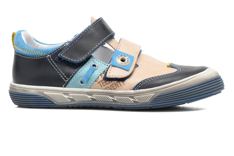 Chaussures à scratch Catimini Chicoree Bleu vue derrière