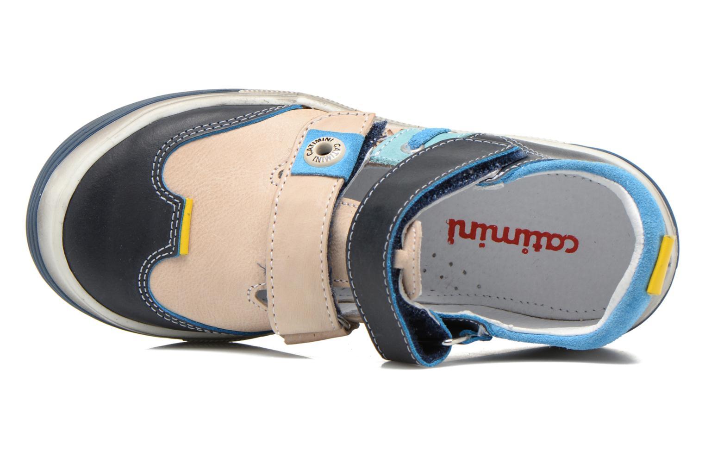 Chaussures à scratch Catimini Chicoree Bleu vue gauche