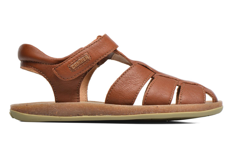 Sandales et nu-pieds Camper Bicho E Marron vue derrière