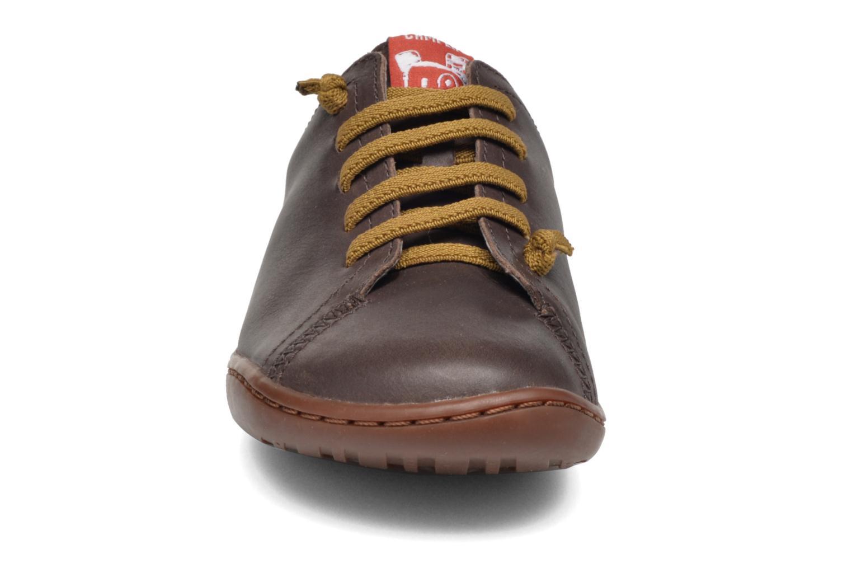 Baskets Camper Peu Low Cami Marron vue portées chaussures