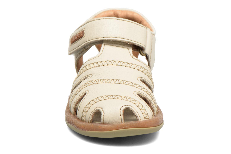 Sandales et nu-pieds Camper Bicho B Beige vue portées chaussures