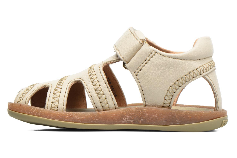 Sandales et nu-pieds Camper Bicho B Beige vue face