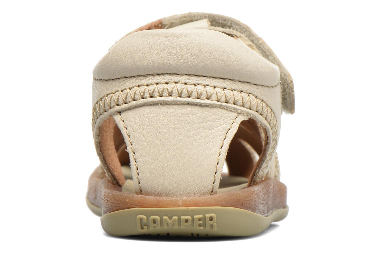 Sandales et nu-pieds Camper Bicho B Beige vue droite