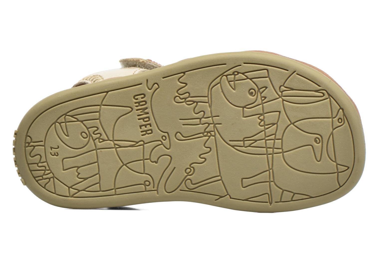 Sandales et nu-pieds Camper Bicho B Beige vue haut
