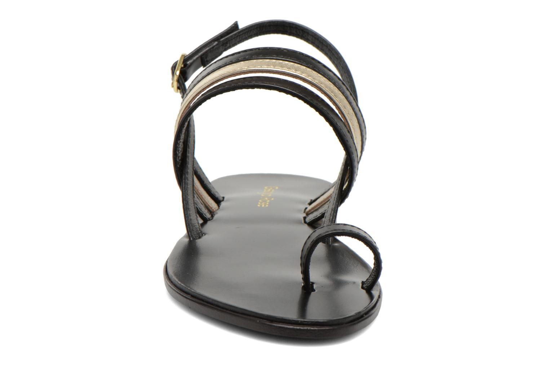Sandales et nu-pieds Georgia Rose Camio Noir vue portées chaussures
