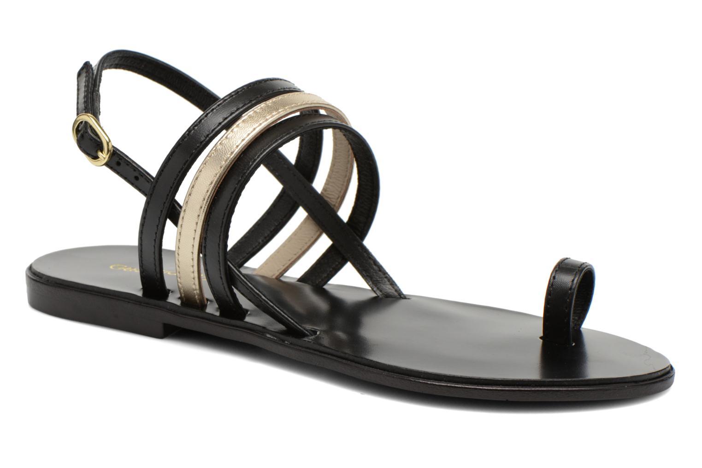 Sandales et nu-pieds Georgia Rose Camio Noir vue détail/paire