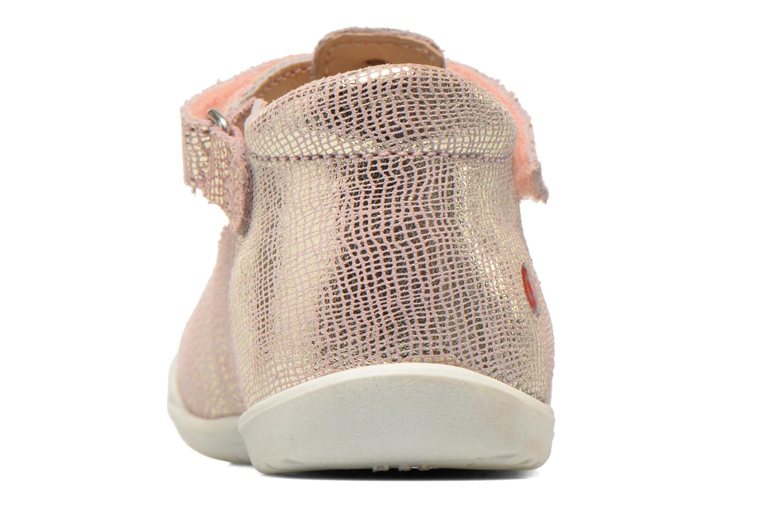 Velcro shoes GBB Margot Pink view from the right
