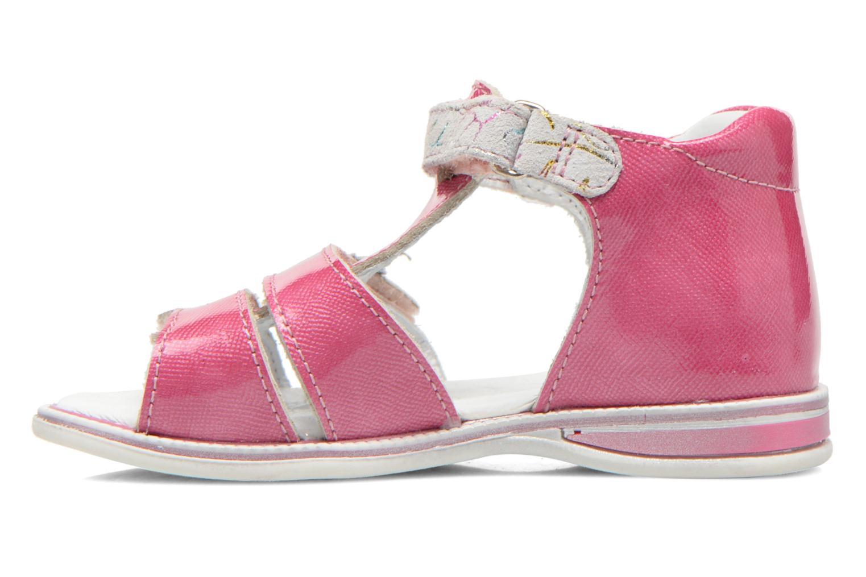 Sandalen GBB Maelys rosa ansicht von vorne