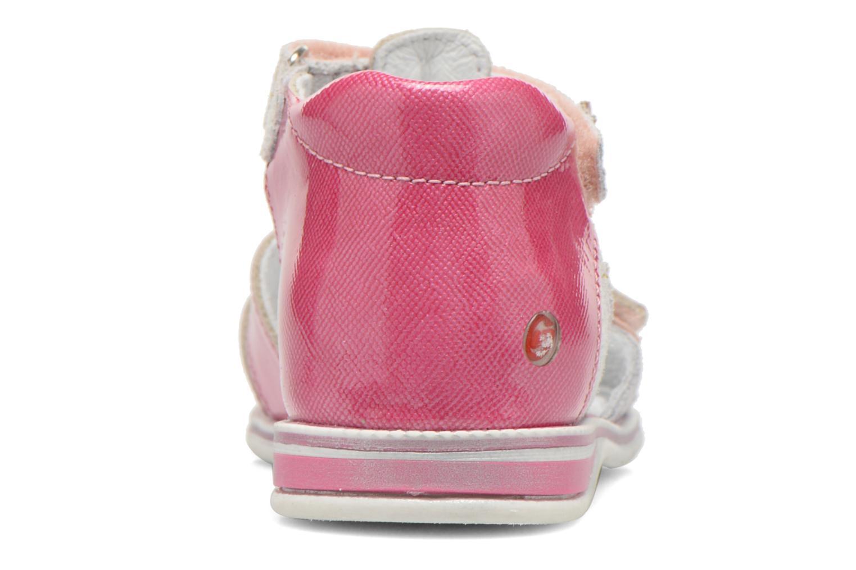 Sandalen GBB Maelys rosa ansicht von rechts