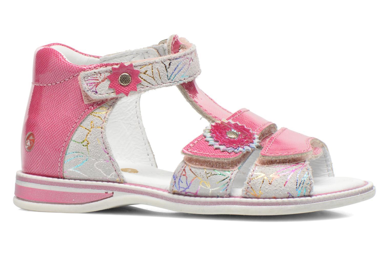 Sandalen GBB Maelys rosa ansicht von hinten