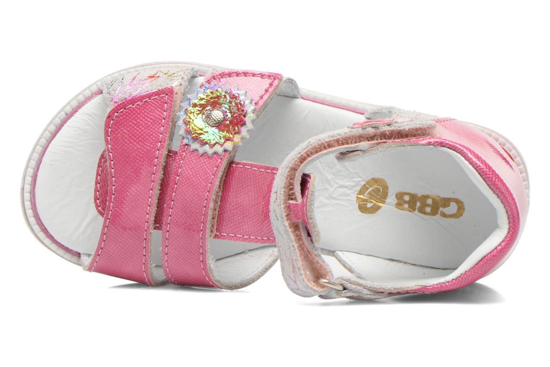 Sandalen GBB Maelys rosa ansicht von links