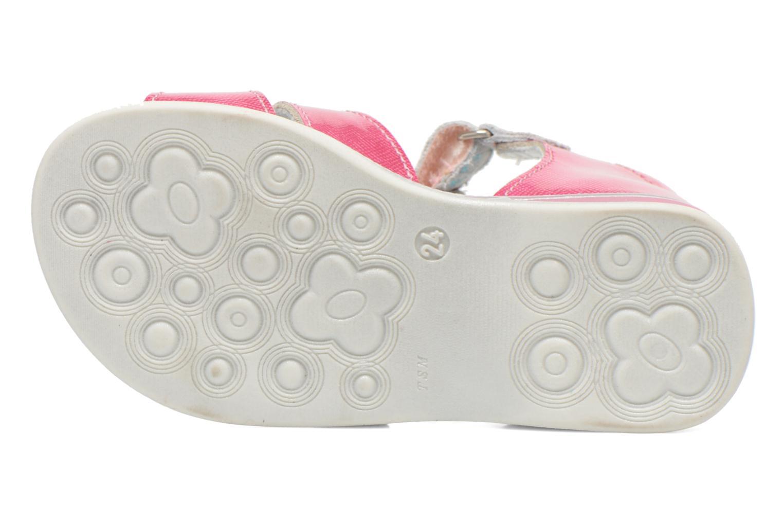 Sandalen GBB Maelys rosa ansicht von oben