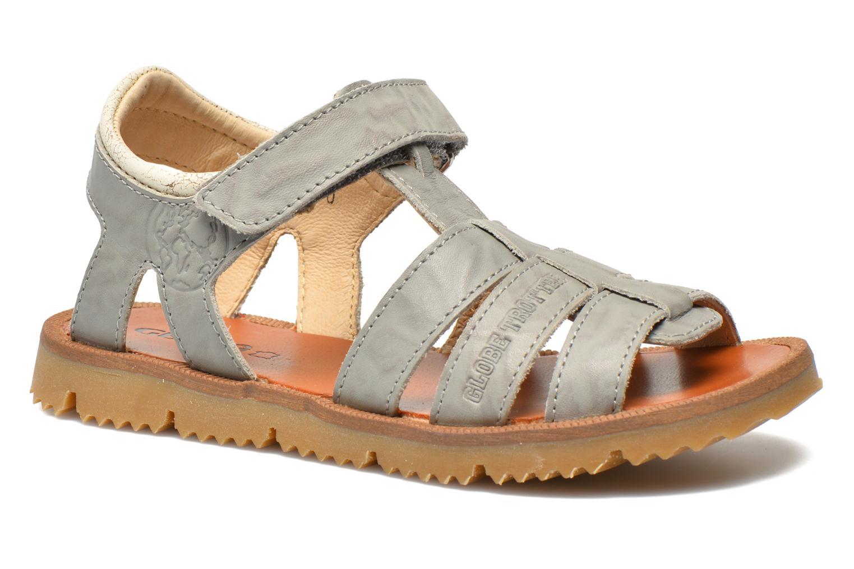 Sandales et nu-pieds GBB Martial Gris vue détail/paire