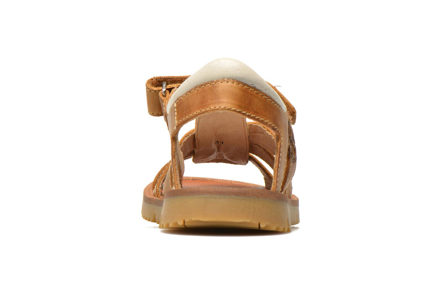 Sandals GBB Martial Brown view from the right