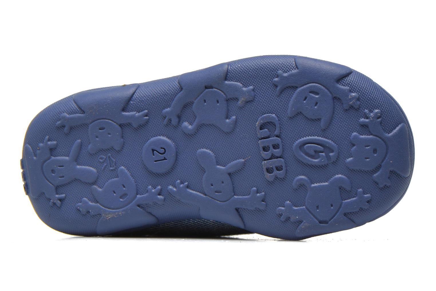 Slippers GBB Maxime Blue view from above
