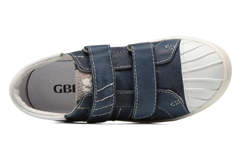 Baskets GBB Mano Bleu vue gauche