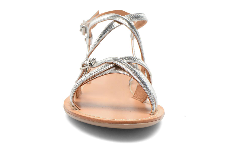 Sandales et nu-pieds Mellow Yellow Vanille Argent vue portées chaussures