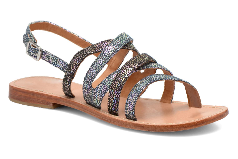 Sandales et nu-pieds Mellow Yellow Valoma Noir vue détail/paire