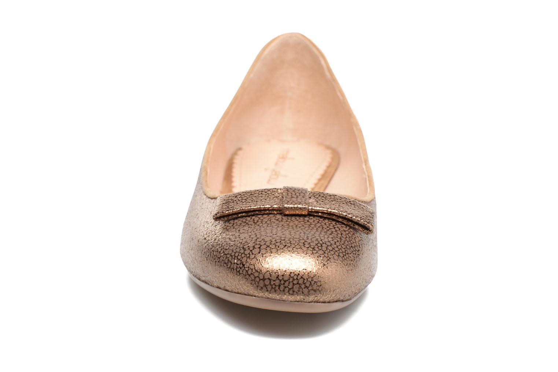 Ballet pumps Mellow Yellow Baless Bronze and Gold model view
