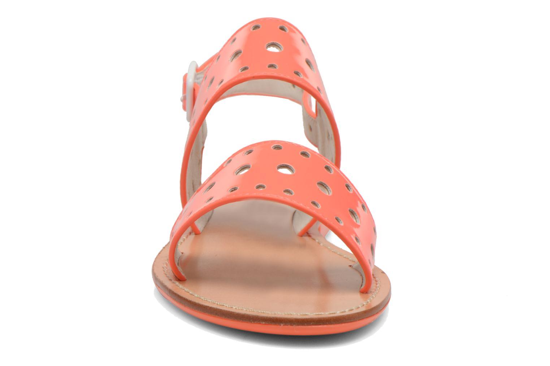 Sandales et nu-pieds Mellow Yellow Vadina Orange vue portées chaussures