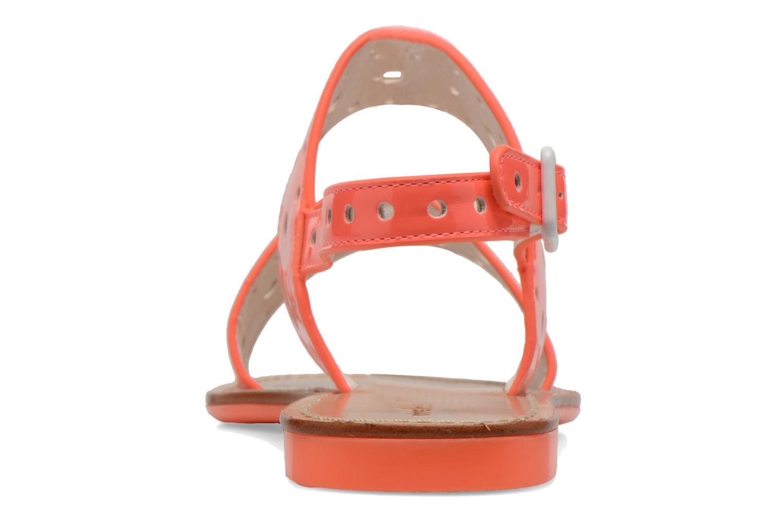 Sandales et nu-pieds Mellow Yellow Vadina Orange vue droite