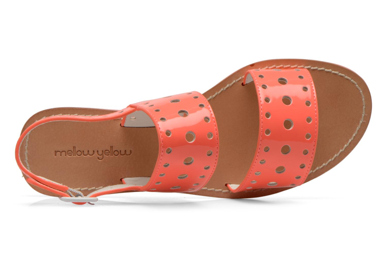 Sandales et nu-pieds Mellow Yellow Vadina Orange vue gauche