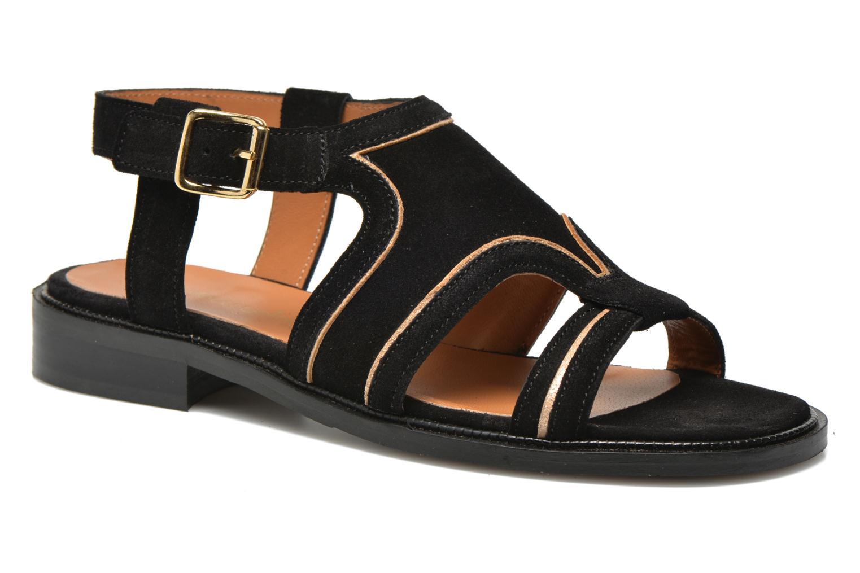 Sandales et nu-pieds Mellow Yellow Vilma Noir vue détail/paire