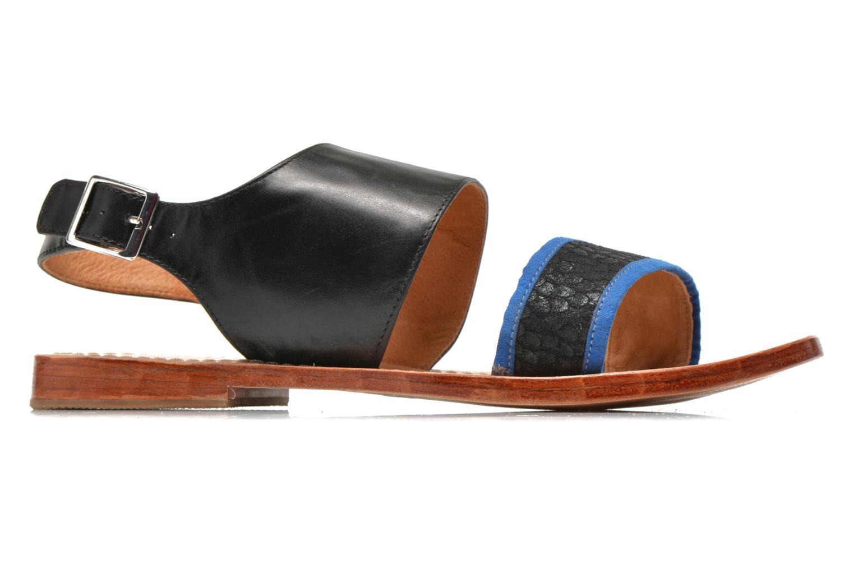 Sandales et nu-pieds Mellow Yellow Vadeli Noir vue derrière