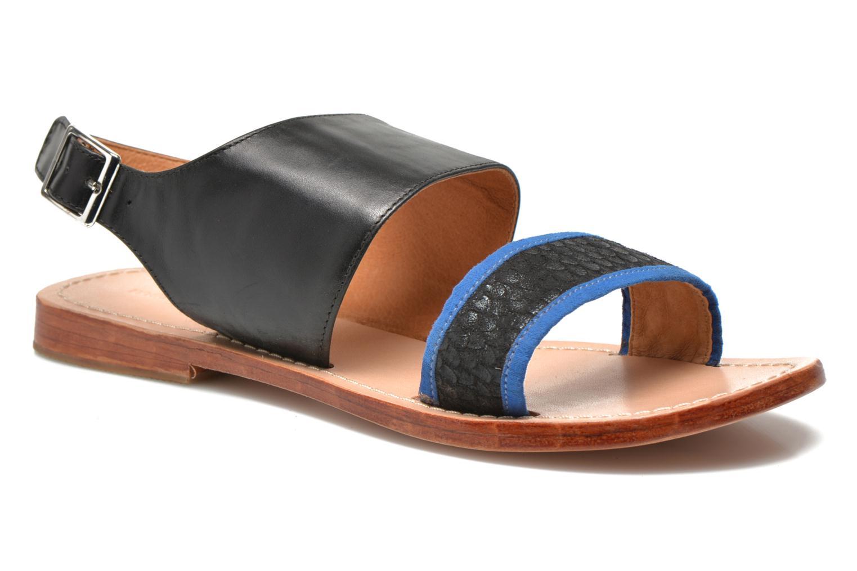 Sandales et nu-pieds Mellow Yellow Vadeli Noir vue détail/paire