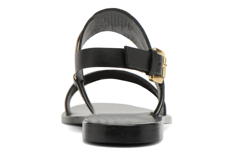 Sandales et nu-pieds COSMOPARIS Kadoa Noir vue droite