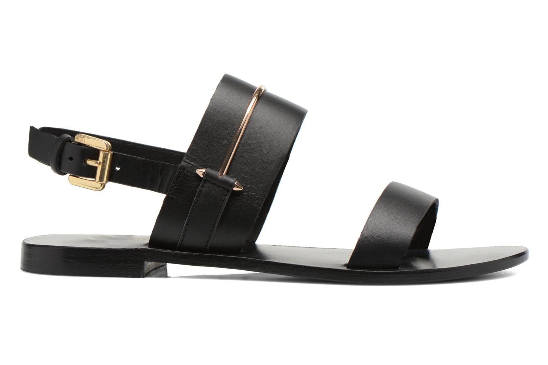 Sandales et nu-pieds COSMOPARIS Kadoa Noir vue derrière