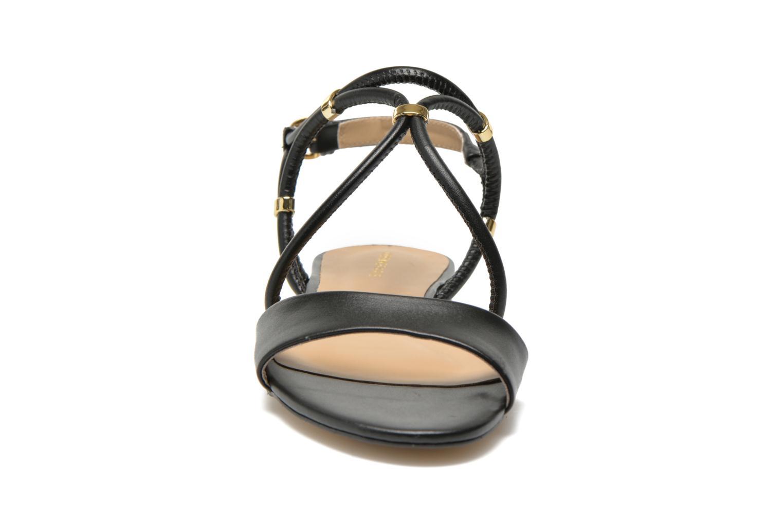 Sandals COSMOPARIS Clira Black model view