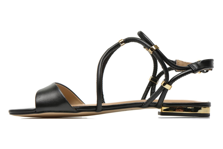 Sandales et nu-pieds COSMOPARIS Clira Noir vue face