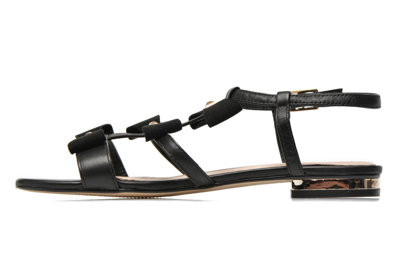 Sandales et nu-pieds COSMOPARIS Hilee Noir vue face