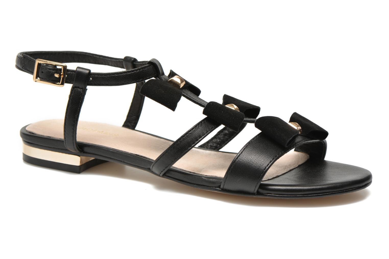 Sandales et nu-pieds COSMOPARIS Hilee Noir vue détail/paire