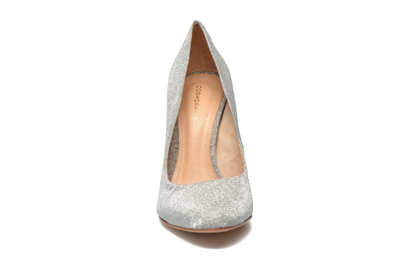 Zapatos de tacón COSMOPARIS Adora Plateado vista del modelo