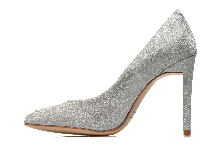 Zapatos de tacón COSMOPARIS Adora Plateado vista de frente