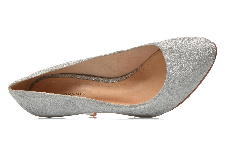 Zapatos de tacón COSMOPARIS Adora Plateado vista lateral izquierda
